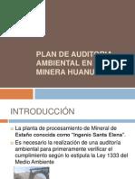 Plan de Auditoria Ambiental en La Minera Huanuni