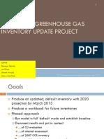CDPHE Colorado Greenhouse Gas Inventory Update