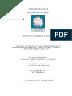 Protocolo de Investigacion Amenaza de Parto Pretermino Dr. Oscar Osuna