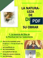 05 La Naturaleza de Dios y Su Obrar