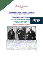 Juan Nepomuceno Cortina l 5.16.1824-10.30.1894 l Somos Primos l Nov 2008 l 107th Online Issue