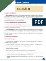 Ética e Legislação Empresarial e Trabalhista_Unidade II