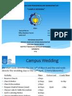 Campus Wedding Projeck