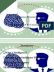 BEH 225 Week 3 CheckPoint Intelligence Presentation