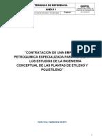 Terminos de Referencia Etileno y Polietileno