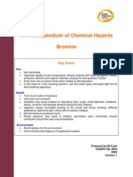 HPA Compendium of Chemical Hazards Bromine v1