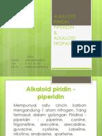 Alkaloid Piridin Piperidin Ari Kurniawati k487