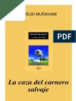 Murakami, Haruki - La Caza Del Carnero Salvaje.pdf