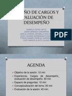 DISEÑO DE CARGOS Y EVALUACION DE DESEMPEÑO