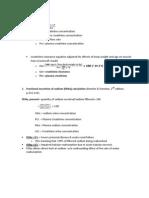 Nephrology Formulas