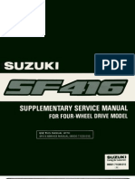 4WD Suppliment Manual