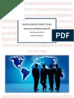 Caso Integrador Hablidades Directivas