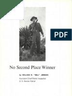 No Second Place Winner - Bill Jordan