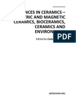 Advances in Ceramics - Electric and Magnetic Ceramics Bioceramics Ceramics and Environment
