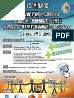 I Seminario de Innovación Pedagógica