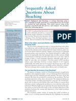 FAQ-Bleaching Van Haywood