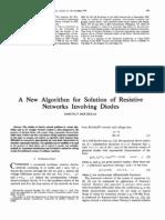 Bertsekas - Networks Involving Diodes