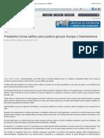Presidente Correa califica como positiva gira por Europa y Centroamérica | ANDES.pdf