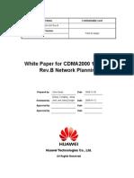 White Paper for CDMA2000 1xEV-DO Rev.B Network Planning V1.3(20100112)