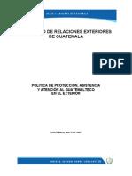 Política Protección Guatemal. Exterior.doc