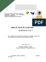 LIBRO DE TEXTO  HIDRAULICA I.doc