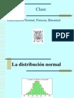 Clase Normal Binomial Poisson