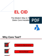 ELCID TEST OF GENERATOR