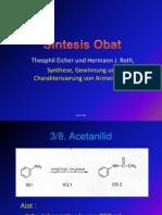 Sintesis Acetanilid,Parasetamol,Asetosal