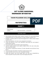 Matematika Paket 1