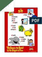 Sh Phonics Poster