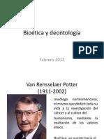 Bioética y deontología