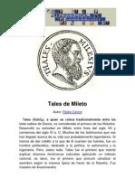 Philosophica Enciclopedia Tales de Mileto