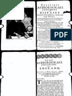 Nicholas Culpeper Astrological Judgment of Diseases