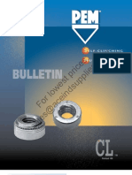 PEM Self Clinching Nuts CL Series