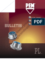 PEM Self Locking Fasteners Nylon Insert