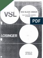 End Block Design in Post Tensioned Concrete_VSL