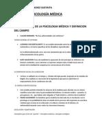 Resumen Psicología Médica.