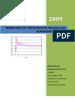 Transitorio de Cortocircuito Trifasico Del Generador Sincrono