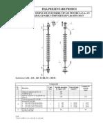 Lanturi Izolatoare 110 kV - Eximprod