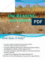 Increasing Soil Fertility