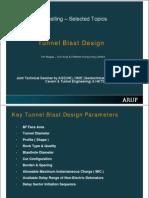 Tunnel Blast Design