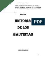 Folleteria Historia de Los Bautistas