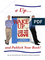 Wake Up and Publish Your Book