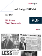 Federal Budget 2013/2014