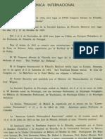 Cronica Internacional Revista de Filosofía UCR Vol.3 No.9