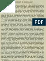 Cronica Psicologia o sicologia Revista de Filosofía UCR Vol.3 No.9