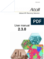 User Manual Atoll Complete