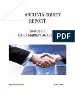 Equity Report Today 28 May 2013
