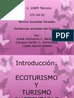Ecoturismo y Turismo Tradicional