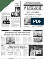 Versión impresa del periódico El mexiquense 28 mayo 2013